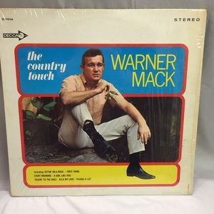 Vintage vinyl record warner Mack the country touch